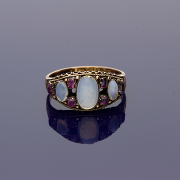 opal antique ring