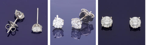 Diamond Studs at Gold Arts