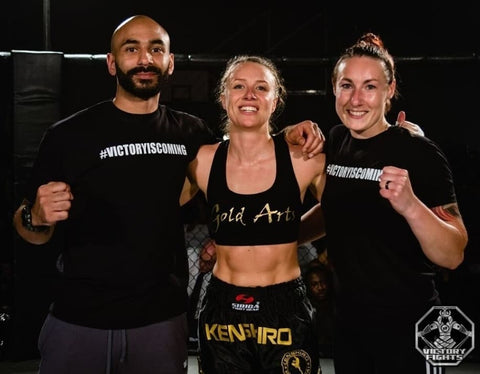 Kerry Newman Gold Arts Victory Fights
