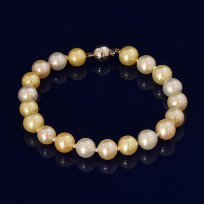 8-8.5mm Multi-Colour Akoya Pearl Bracelet