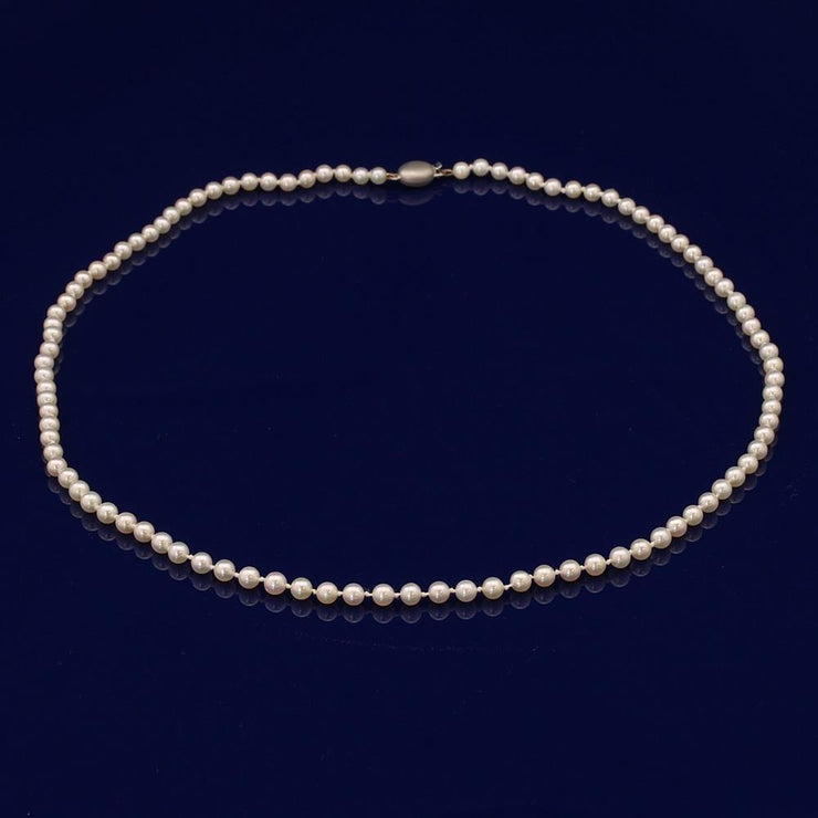 4.5mm Akoya Pearl Necklace