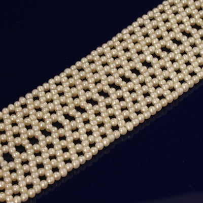 Cultured Pearl Collar With 14ct White Gold Clasp