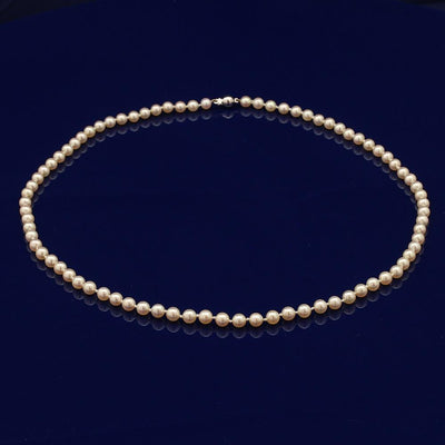 5-5.5mm Akoya Pearl Necklace