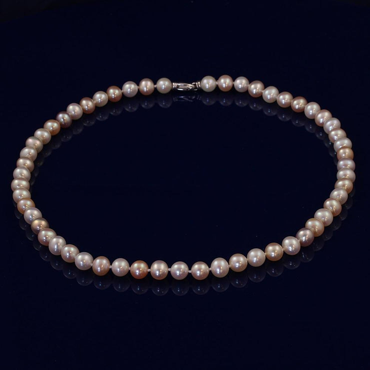 8-9mm Multi-Colour Fresh Water Pearl Necklace