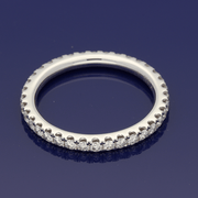 Platinum Diamond Full Eternity Ring
