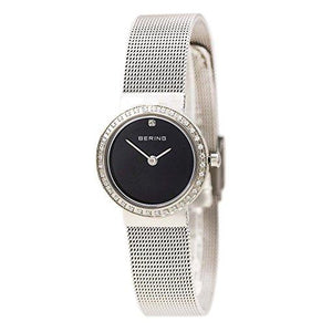 Ladies Classic 25mm Stainless Steel Bering Mesh Bracelet Watch