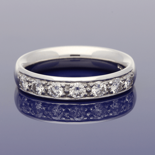 18ct White Gold Diamond Eternity Ring.