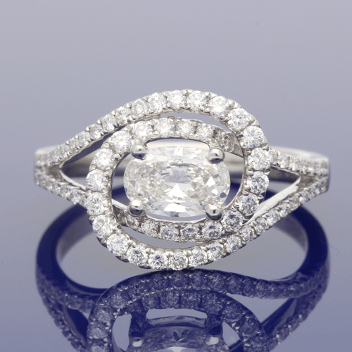 Platinum & Diamond Dress Ring