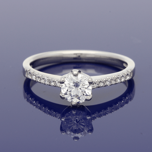 Platinum Superb Quality Diamond Ring