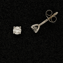 18ct White Gold 0.31ct Diamond Stud Earrings