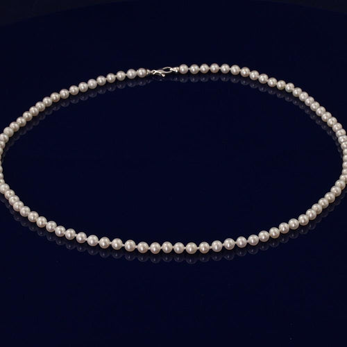 5-5.5mm White Fresh Water Pearl 21