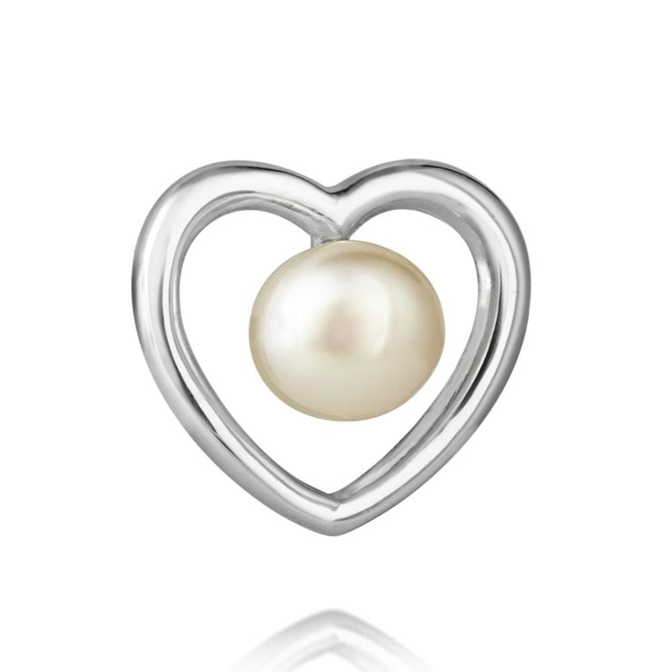Jersey Pearl Kimberley Selwood Collection 3-4mm Freshwater Pearl And Silver Earrings
