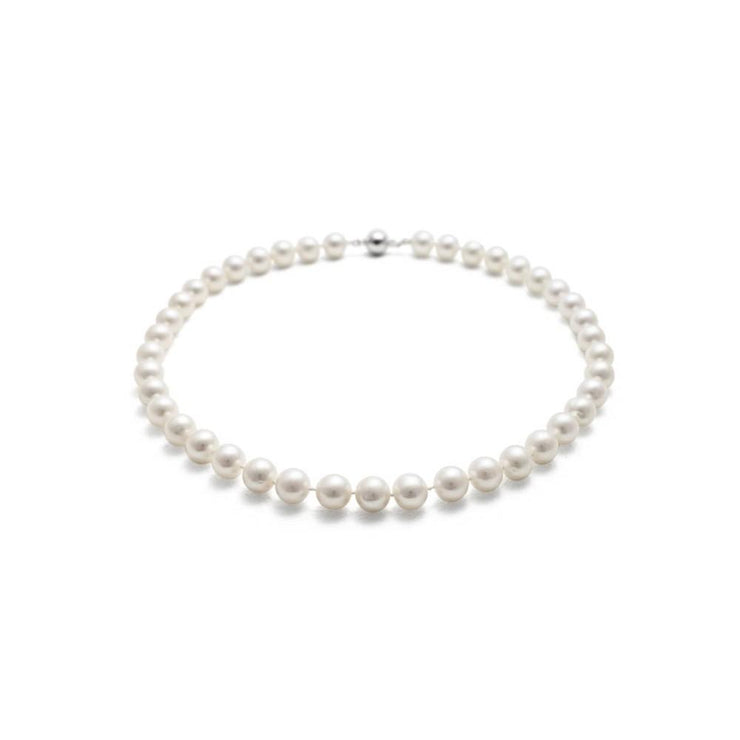 Jersey Pearl 8.5-9.5mm Classic Freshwater Pearl Necklace 18""