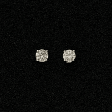 18ct White Gold Diamond 0.40ct Stud Earrings