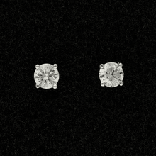 18ct White Gold 0.51ct Diamond Stud Earrings