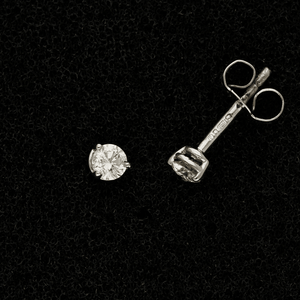 18ct White Gold 0.24ct Diamond Stud Earrings