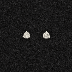 18ct White Gold Diamond 0.20ct Stud Earrings