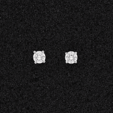 18ct White Gold Diamond 0.34ct Stud Earrings
