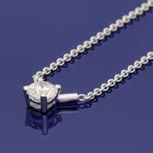 18ct White Gold & Diamond 0.71ct Necklace