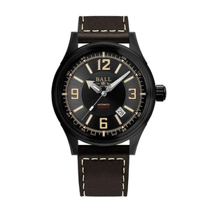 BALL Watch Fireman Racer DLC, Leather  Strap