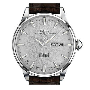 BALL Watch Trainmaster Eternity, Leather Strap