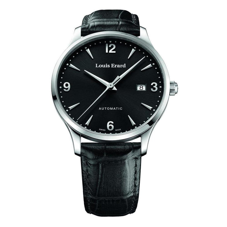 Louis Erard Watch 1931 Automatic Black
