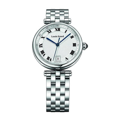 Louis Erard Watch Romance, Ladies Quartz Stainless Steel