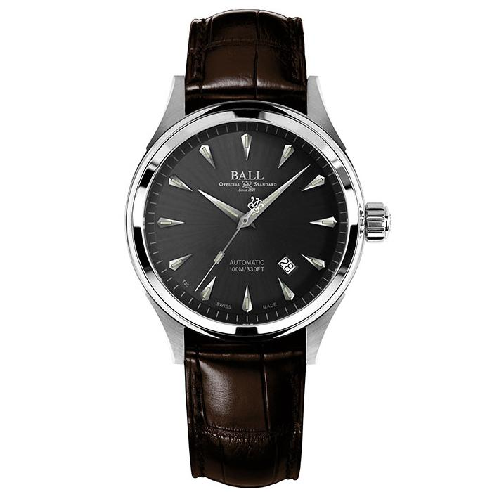 Ball Watch Fireman Racer Classic, Leather Strap