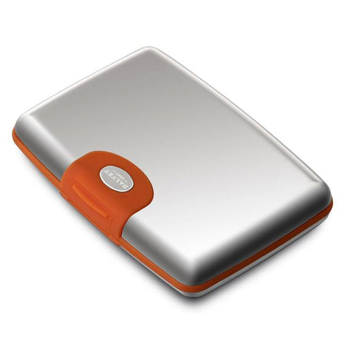 Dalvey Stainless Steel Credit Card Case - Orange