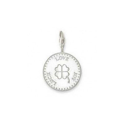 Thomas Sabo Love Luck Joy Coin Charm 0346-001-12