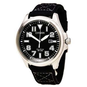 Men's Citizen Sports Stainless Steel Strap Watch