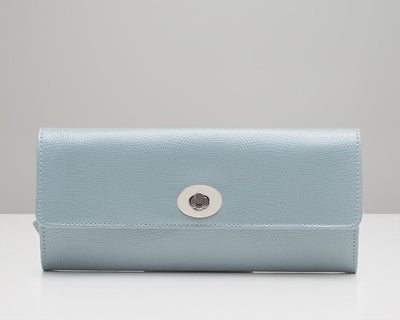 Wolf  Jewellery Roll - Ice Blue