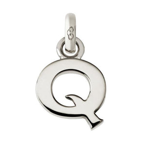 Links of London Sale - Alphabet Q Silver Charm