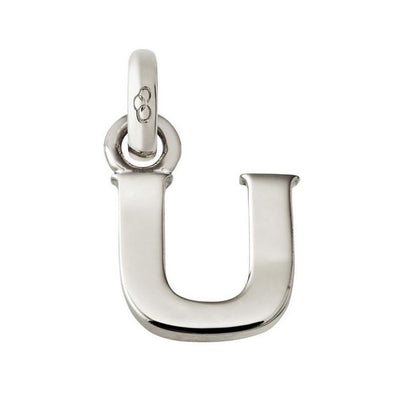 Links of London Sale - Alphabet U Silver Charm