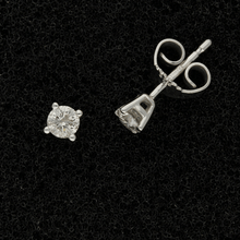 9ct White Gold 0.25ct Diamond Stud Earrings