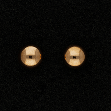 9ct Rose Gold 7mm Ball Stud Earrings