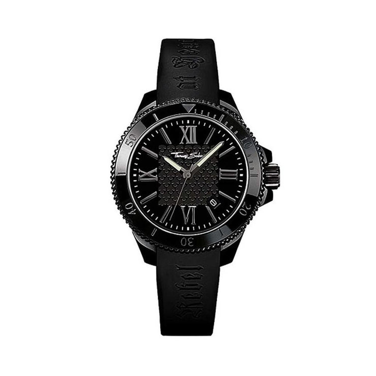Ladies' Thomas Sabo Rebel at Heart Rubber Strap Watch
