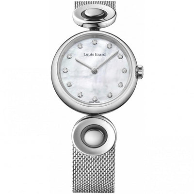 Louis Erard Watch 4 Seasons Romance, Ladies Quartz Diamond Dial