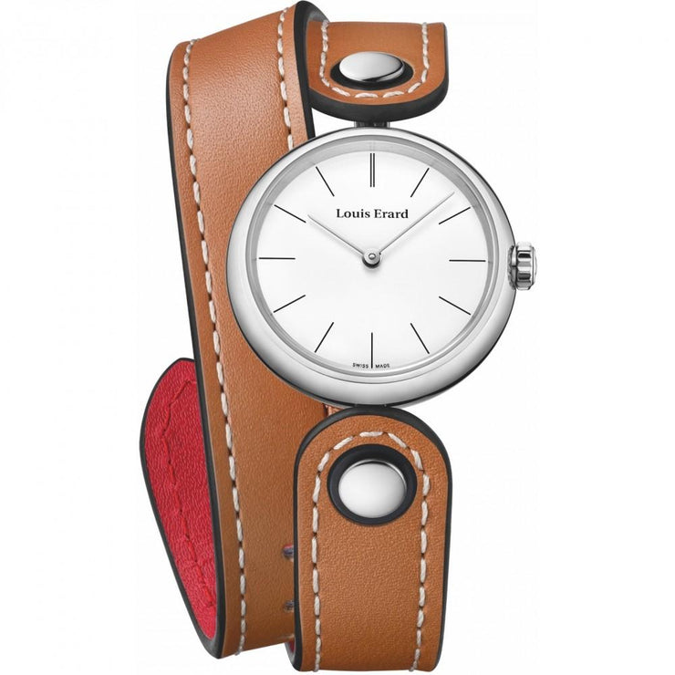 Louis Erard Watch 4 Seasons Romance, Ladies Quartz White Dial