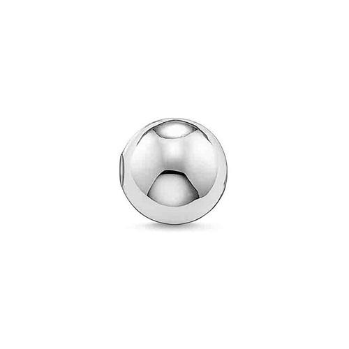 Thomas Sabo Sale -  Sterling Silver Karma Bead Small Plain Silver K0047-001-12