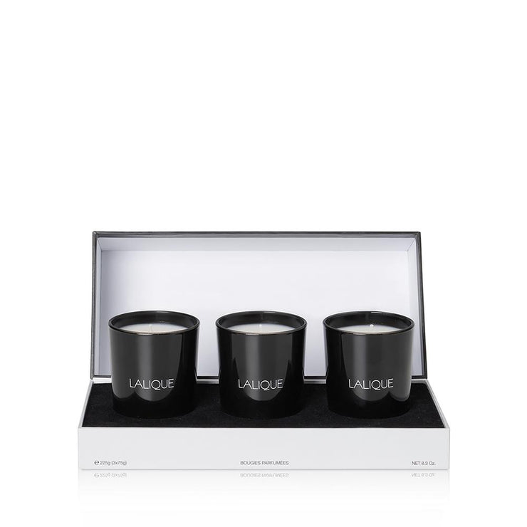 Lalique Scented Candle set - Mediteranean Colours