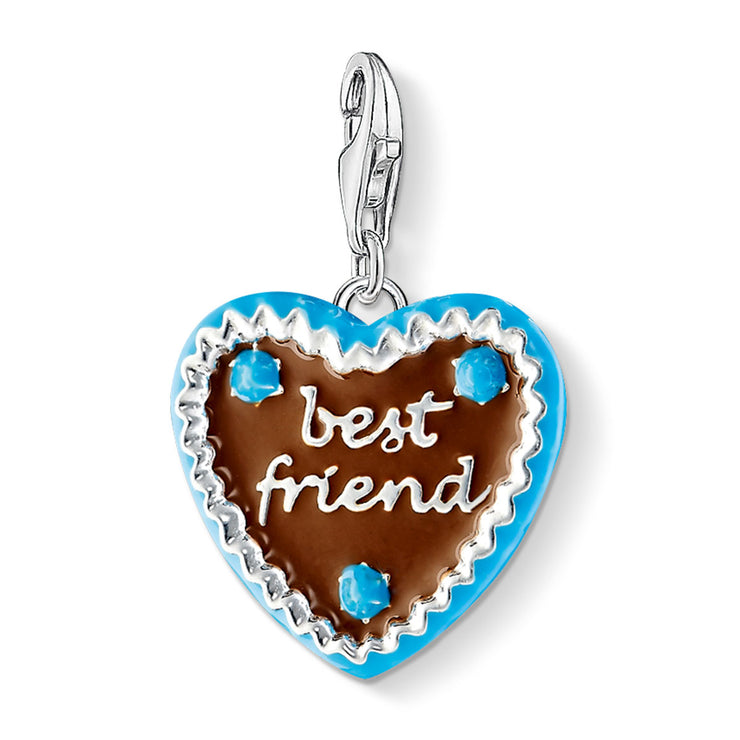 Thomas Sabo My Best Friend Heart Cookie Charm 1099-007-2