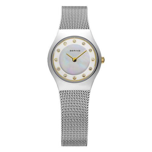 Ladies Classic 23mm Stainless Steel Bering Bracelet Watch