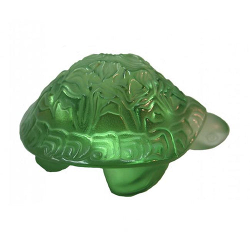 Lalique Sidonie Turtle - Green