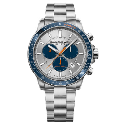 Raymond Weil Men's Tango Quartz Chronograph Bracelet Watch, 8570-ST3-65501