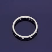 18ct White Gold 3mm Diamond Eternity Band