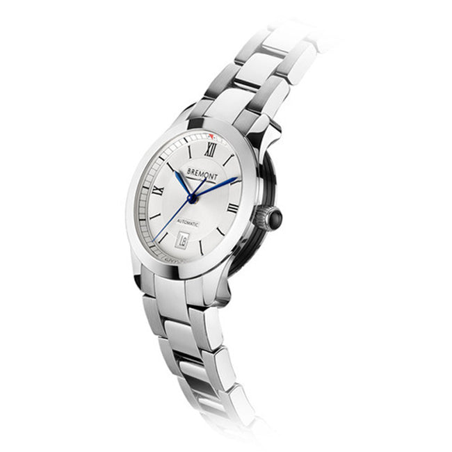 Bremont SOLO-32 Ladies Automatic Stainless-Steel Bracelet Watch, SOLO-32/LC