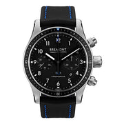 Bremont Boeing BB247 Men's Automatic Staineless Steel Black Kevlar Strap Watch, BB247-SS/BK