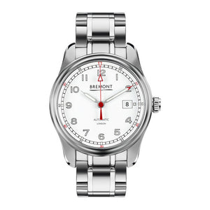 Bremont Airco Mach 1 Men's Automatic Stainless-Steel Bracelet Watch, AIRCO/MACH1/WH/BR