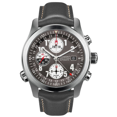 Bremont ALT 1 Zulu Men's Automatic Leather Strap Watch, ALT1-Z